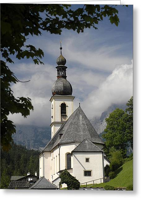 Christianism Greeting Cards - Germany, Bavaria, Berchtesgaden Park Greeting Card by Tips Images