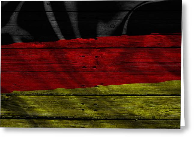 Continent Greeting Cards - Germany Greeting Card by Joe Hamilton