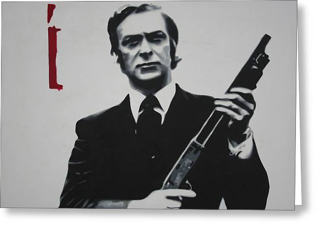 British Crime Greeting Cards - Get Carter 2013 Greeting Card by Luis Ludzska