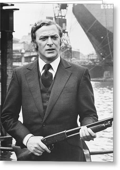 Get Greeting Cards - Get Carter  Greeting Card by Silver Screen