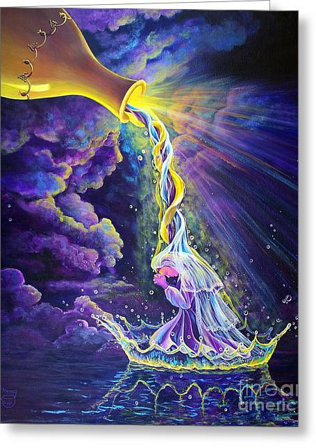 Messianic Greeting Cards - Get Ready Greeting Card by Nancy Cupp
