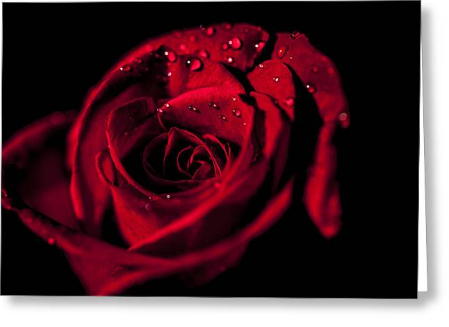Get Red Greeting Card by Jon Glaser