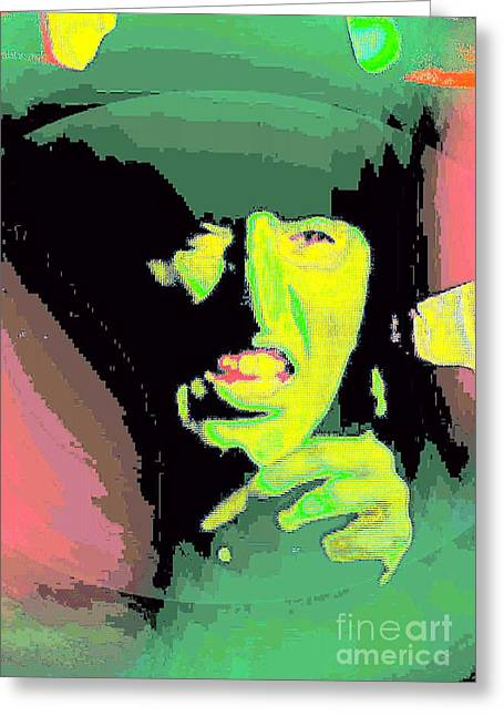 Wicked Witch Of The West Greeting Cards - Get You My Pretty Greeting Card by William Gruendler