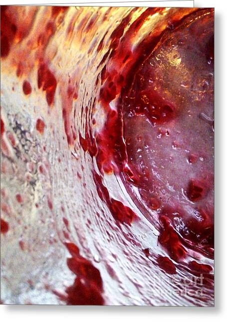 Photographs With Red. Greeting Cards - Getaway Jar Greeting Card by Martin Howard