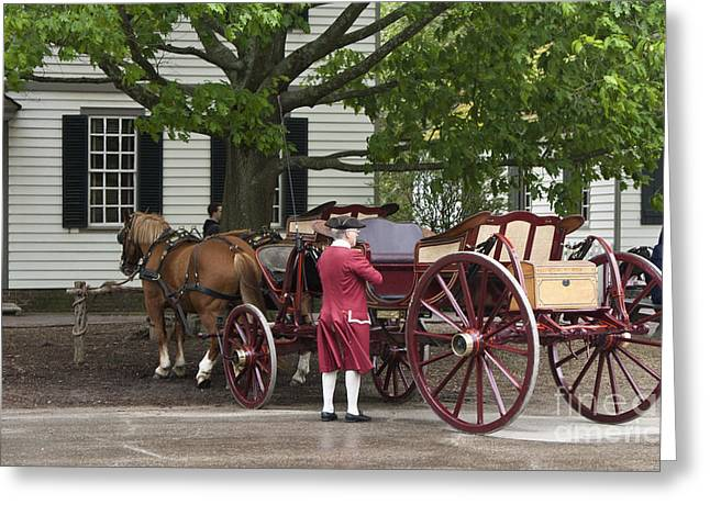Living History Greeting Cards - Getting Ready to Ride Greeting Card by Teresa Mucha
