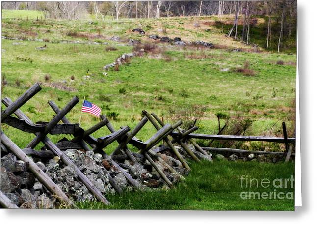 Battlefield Site Greeting Cards - If This Land Could Talk Greeting Card by Patti Whitten