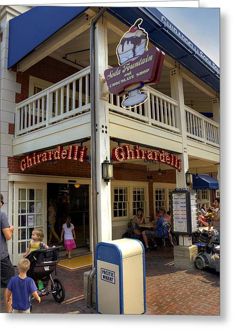 Ghirardelli Greeting Cards - Ghirardelli Greeting Card by Ricky Barnard