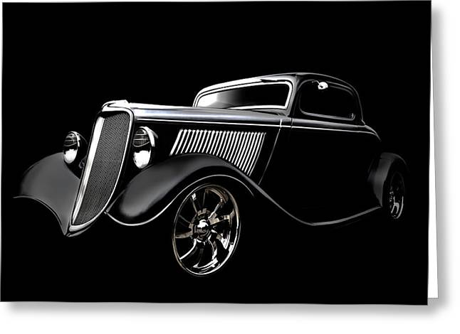Custom Automobile Greeting Cards - Ghost of 33 Greeting Card by Douglas Pittman