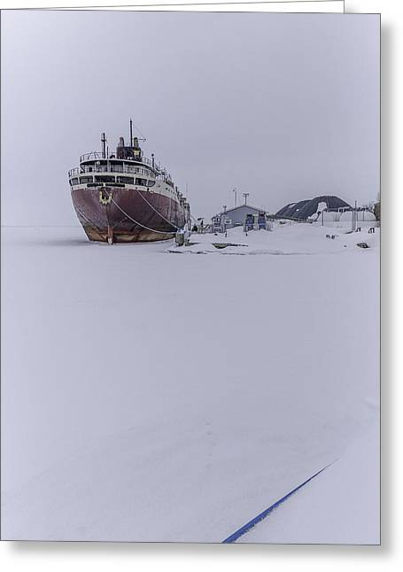 Fortitude Greeting Cards - Ghost Ship Greeting Card by Everet Regal