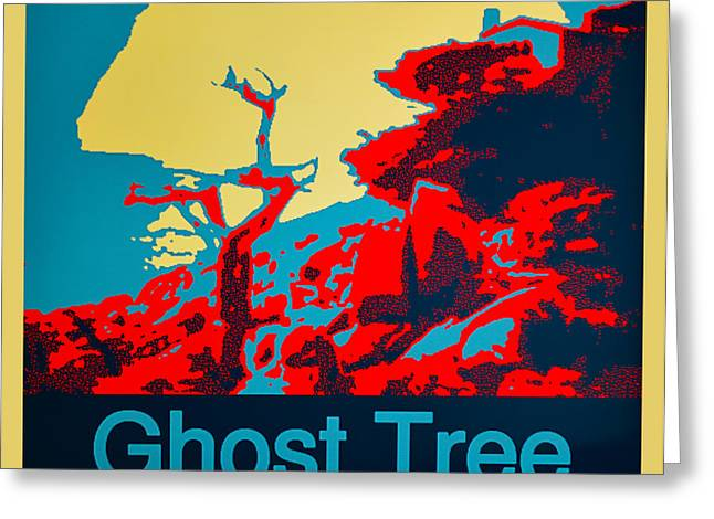 California Ocean Photography Greeting Cards - Ghost Tree Poster Greeting Card by Barbara Snyder