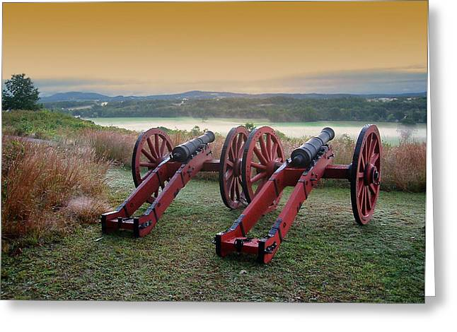 Antietam Greeting Cards - Ghosts of Antietam Greeting Card by Mountain Dreams