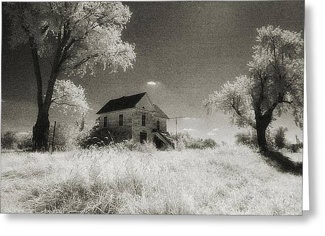 Old House Photographs Greeting Cards - Ghosts Greeting Card by Thomas Bomstad