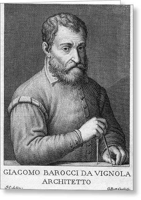 Giacomo Barozzi Da Vignola (1507-1573) Greeting Card by Granger
