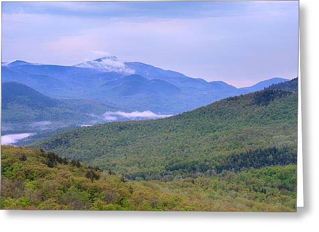 Adirondack Park Greeting Cards - Giant Mountain From Owls Head Greeting Card by Panoramic Images
