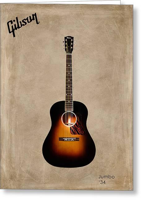 Gibson Greeting Cards - Gibson Original Jumbo 1934 Greeting Card by Mark Rogan