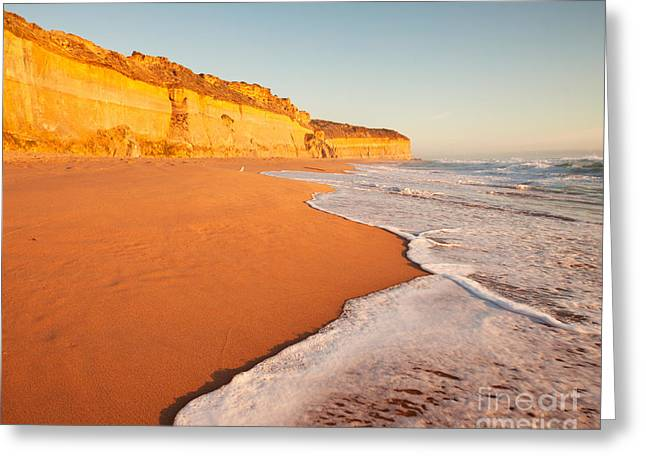 Australia - Australasia Greeting Cards - Gibsons step beach Greeting Card by Matteo Colombo