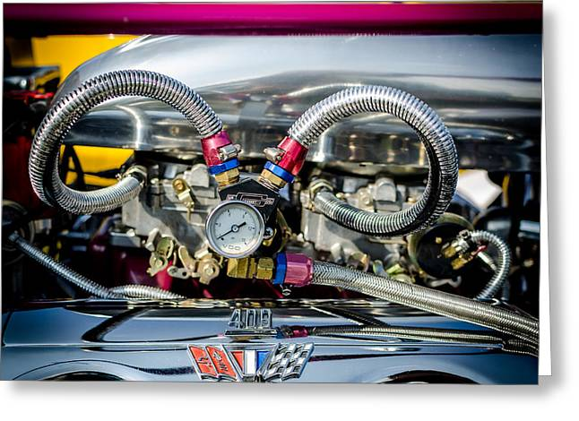 Fuel Gauge Greeting Cards - Giddy Up 409 Greeting Card by David Morefield