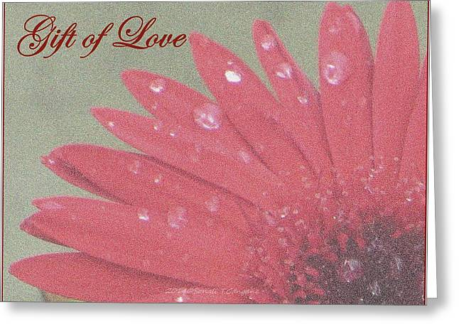 Acrylicprint Greeting Cards - Gift of  Love Greeting Card by Sonali Gangane