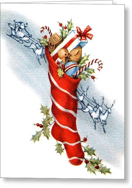 Red Socks Greeting Cards - Gifts Greeting Card by Munir Alawi