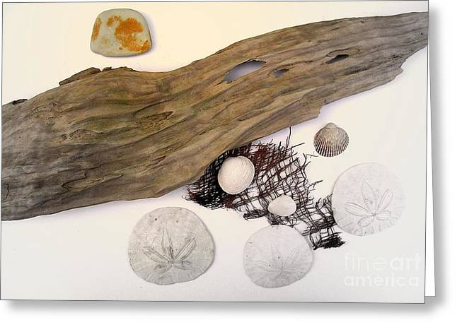 Moon Beach Greeting Cards - Gifts of Nature Greeting Card by Bill Wagner
