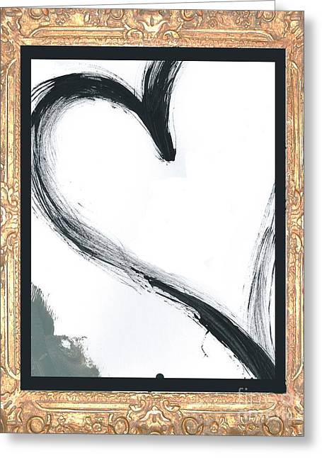 Baby Licensing Greeting Cards - Gilded Love Greeting Card by Anahi DeCanio