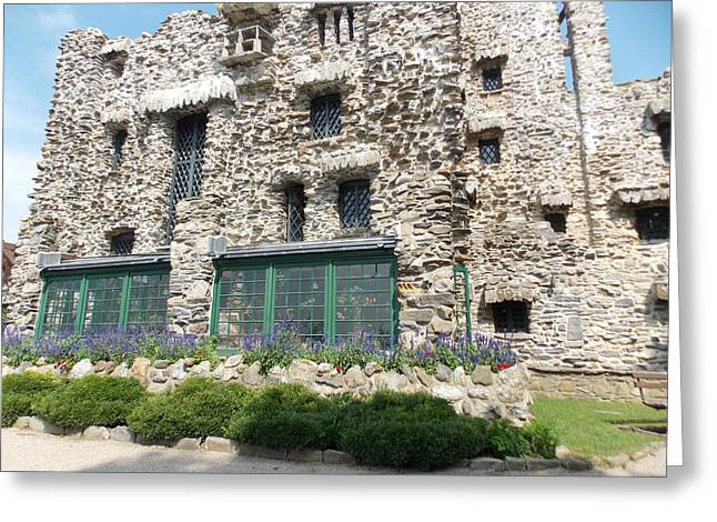 Gillette Castle Greeting Cards - Gillette Castle Greeting Card by Catherine Gagne