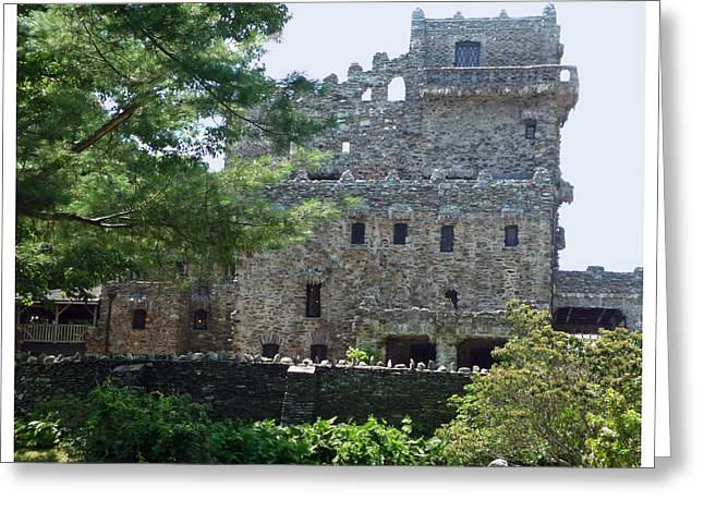 Gillette Castle  Connecticut Greeting Card by Margie Avellino
