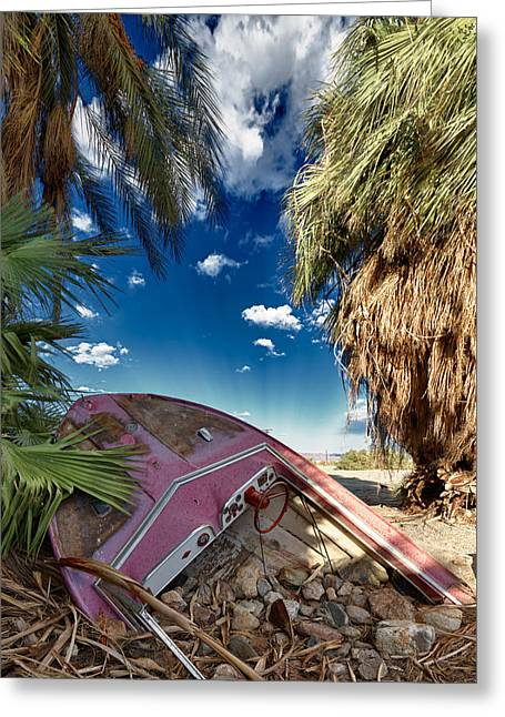 Abandoned Greeting Cards - Gilligans Island Greeting Card by Scott Campbell