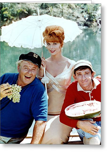 Louise Greeting Cards - Gilligans Island  Greeting Card by Silver Screen