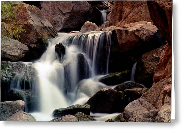 Gilman Greeting Cards - Gilman Falls Greeting Card by Jeannette Wood