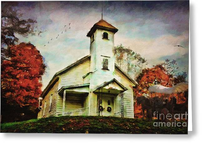 Lianne Schneider Fine Art Print Greeting Cards - Gimme that ol time religion... Greeting Card by Lianne Schneider