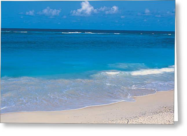 White Caps Greeting Cards - Ginger Bay Barbados Greeting Card by Panoramic Images