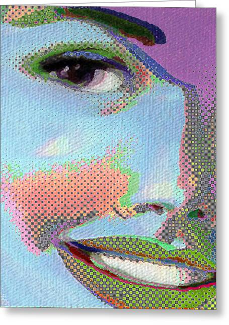 Tony Greeting Cards - Girl Greeting Card by Tony Rubino