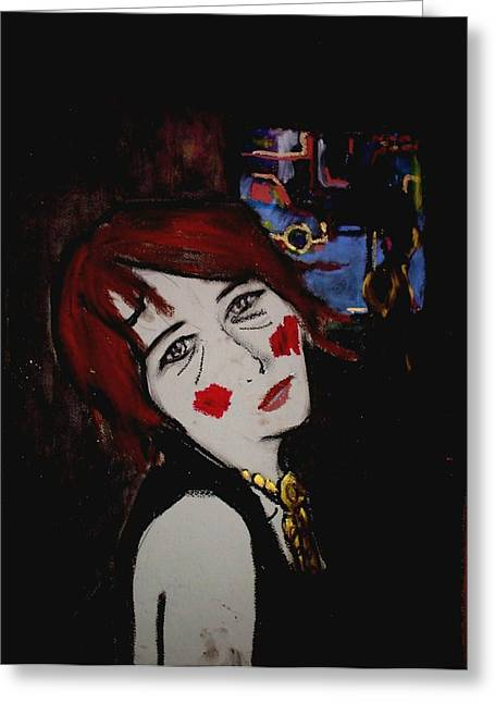 Dated Pastels Greeting Cards - Girlfriend Greeting Card by Bart Zalucki