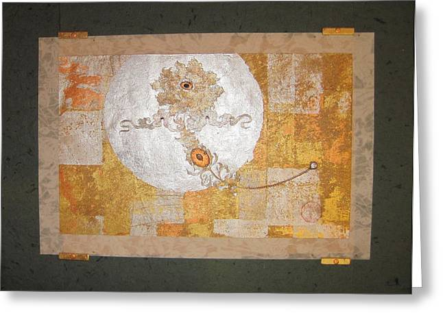 Metallic Tapestries - Textiles Greeting Cards - Girls Smile Greeting Card by Dan A  Barker