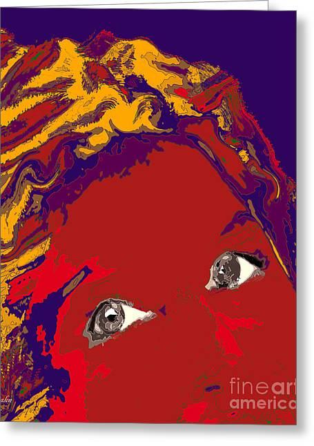 Gisele Bundchen Greeting Cards - Gisele Bundchen Greeting Card by Dalon Ryan