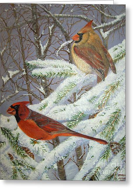 Brenda Brown Greeting Cards - Give her wings to fly Greeting Card by Brenda Brown