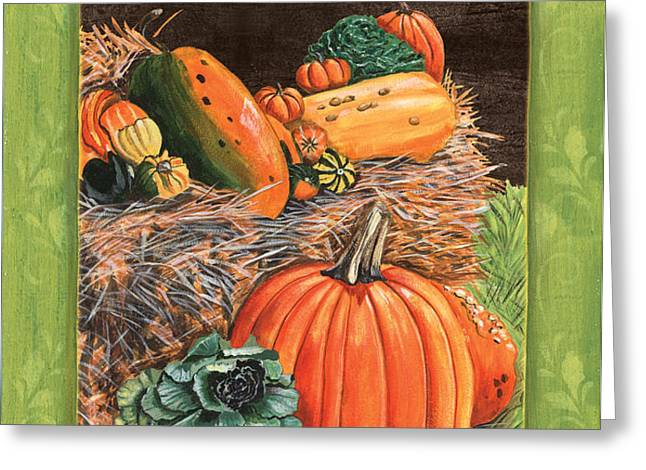 Give Thanks Greeting Card by Debbie DeWitt