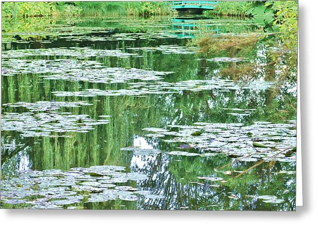 Giverny Greeting Card by Olivier Le Queinec