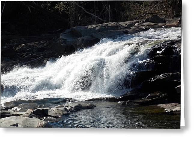 Glacial Potholes Greeting Cards - Glacial potholes falls Greeting Card by Catherine Gagne