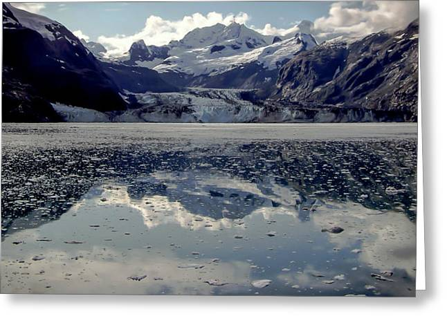 Glacier Bay Greeting Cards - Glacier Bay Greeting Card by Karen Wiles