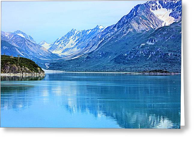 Glacier Bay Greeting Cards - Glacier Bay Greeting Card by Kristin Elmquist