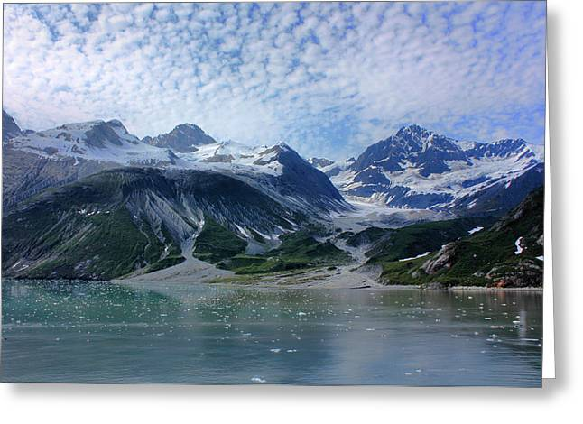 Glacier Bay Greeting Cards - Glacier Bay Scenic Greeting Card by Kristin Elmquist