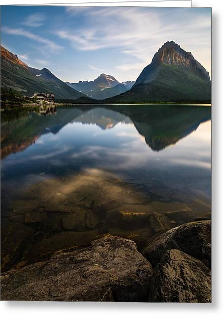 Marshall Greeting Cards - Glacier National Park 2 Greeting Card by Larry Marshall