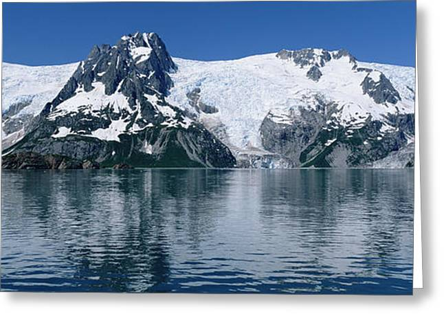 Northwestern Us Greeting Cards - Glaciers Northwestern Fjord Kenai Alaska Greeting Card by Konrad Wothe