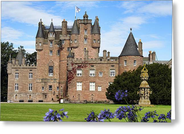 Jmpolitte Greeting Cards - Glamis Castle Greeting Card by Jason Politte