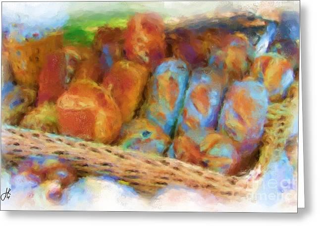 Gluten Free Greeting Cards - Glamorous Gluten 1036 20140927 Greeting Card by Julie Knapp
