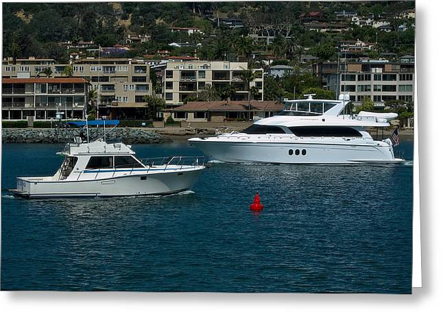 San Diego Harbor Cruise Greeting Cards - Glamorous Life Greeting Card by See My  Photos