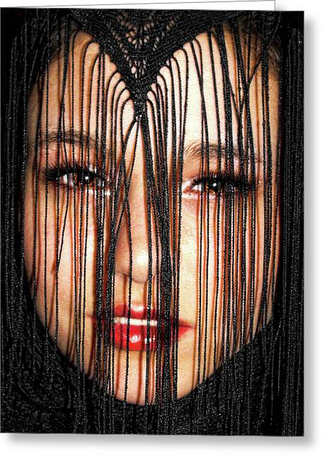 Glare Greeting Card by Kristie  Bonnewell