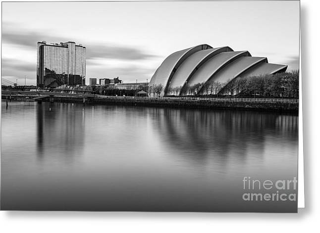 Glasgow Armadillo Greeting Card by John Farnan